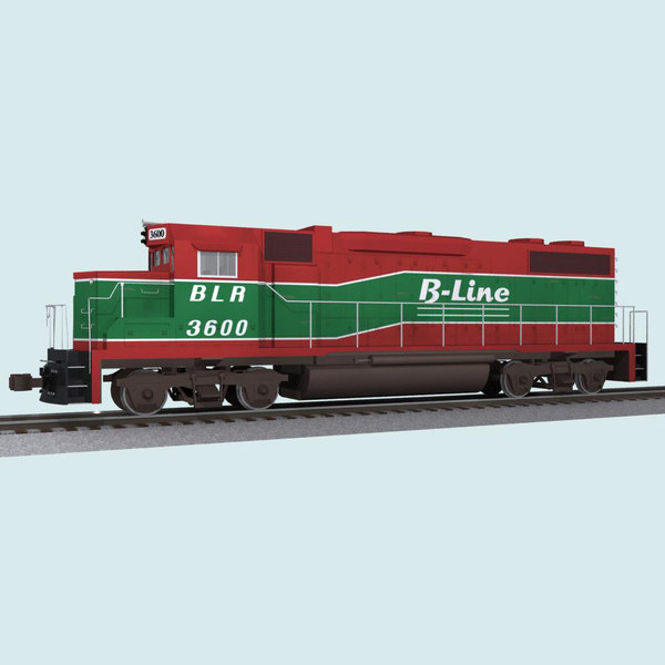 3ds max train car