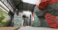 3d max climbing walls