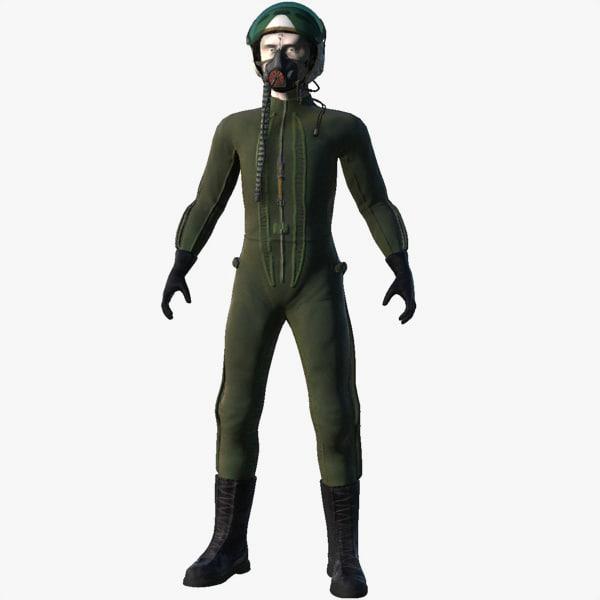 3d model mig pilot
