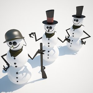 s max 3 snowmen