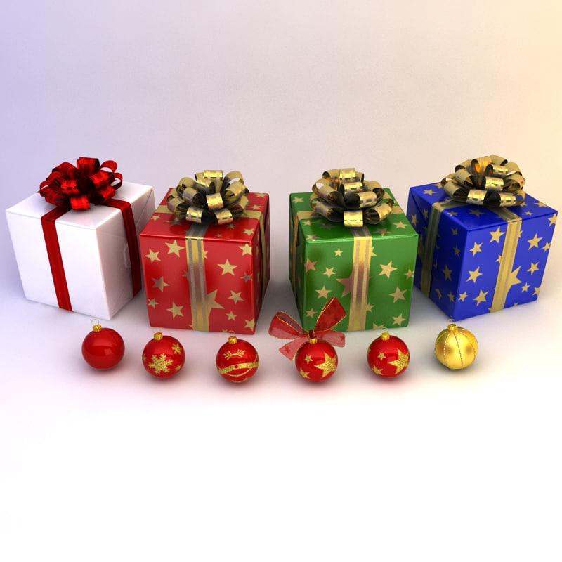 christmas ration pack 3d model