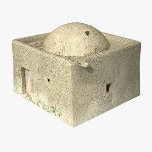 afghan house 10 3d model