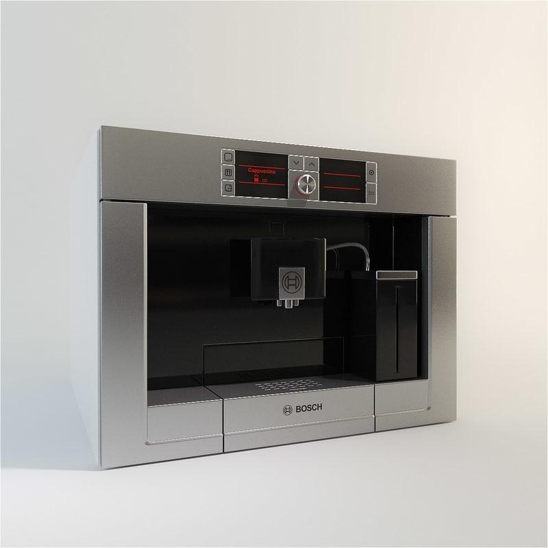 3d model bosch modern kitchen