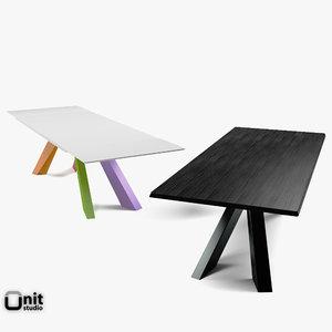 versions big table bonaldo 3ds