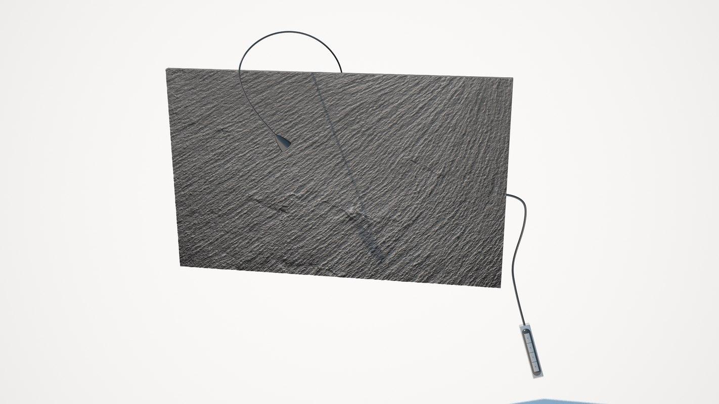 elica stone gallery black 3d model