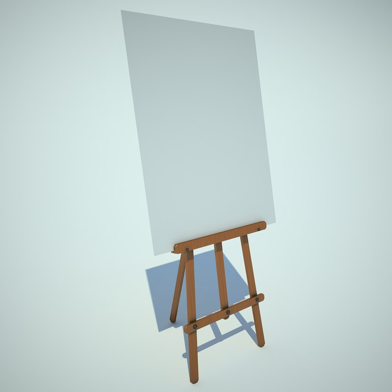 3ds easel