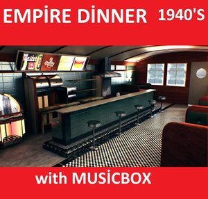 max 1940 empire dinner table