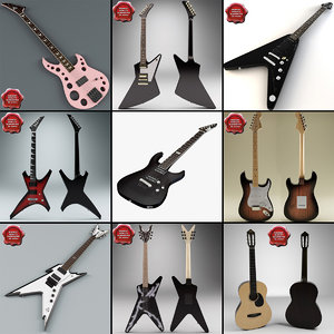 c4d guitars 4