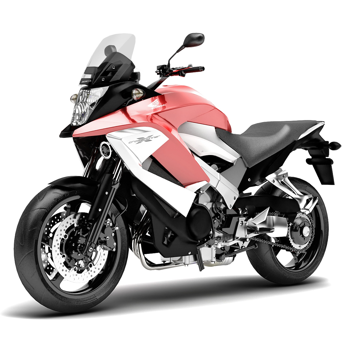 3d model honda crossrunner