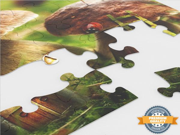 35 piece jigsaw puzzle 3d model