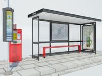 London Bus Stop 1