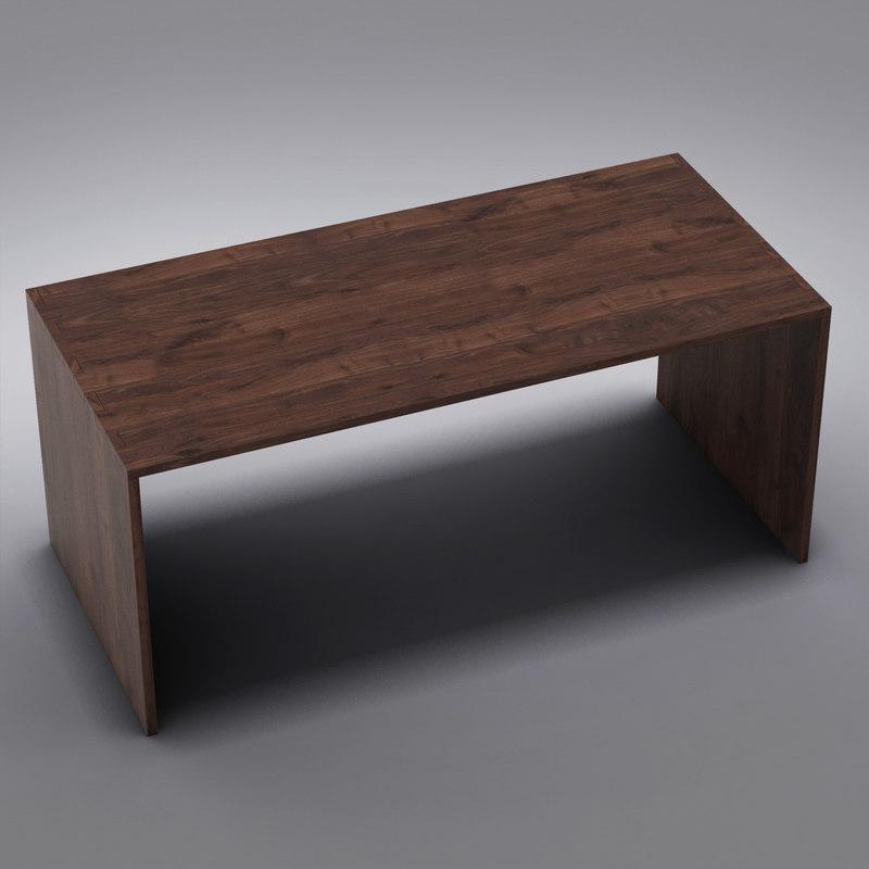 crate barrel - desk obj