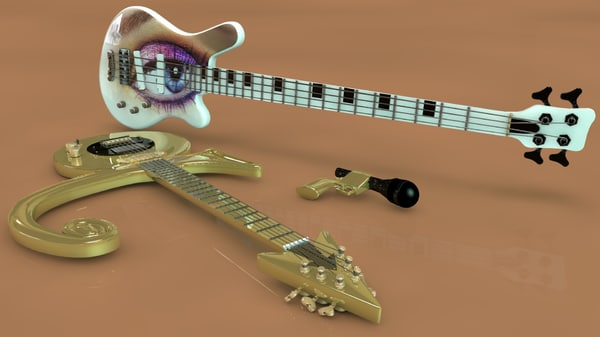 prince symbol guitar warwick 3d 3ds