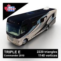 2010 triple e commander 3d max