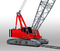 3d model yard crane construction