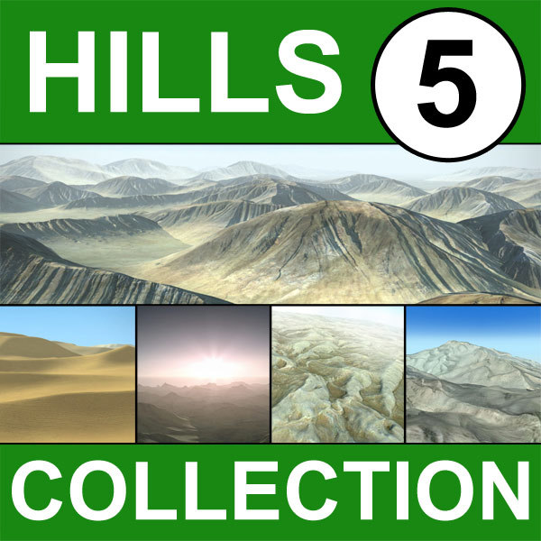 3dsmax hills landscape terrain