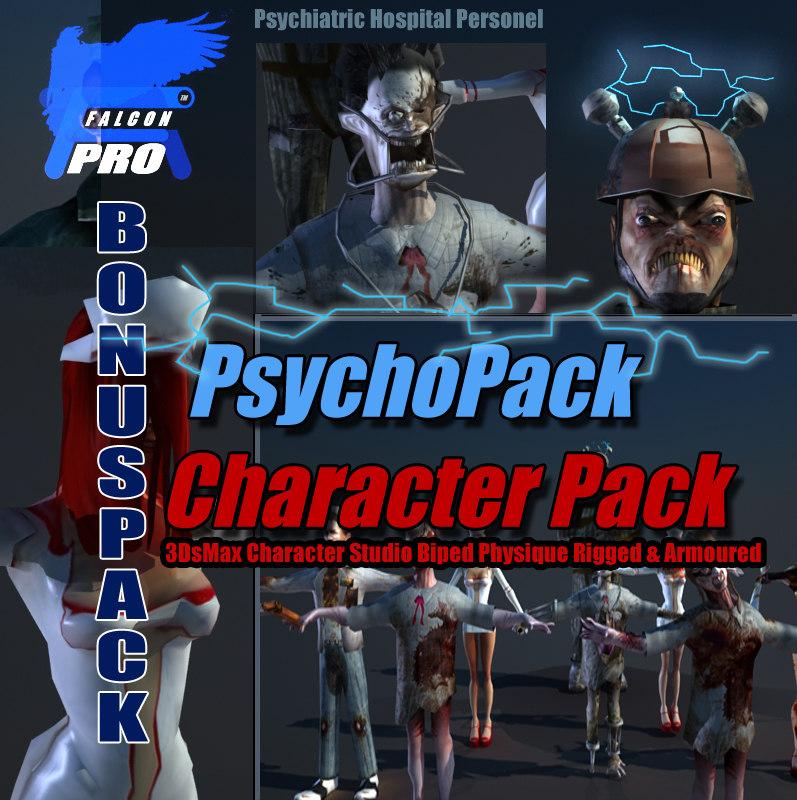 psychopack character pack max