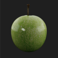 3ds pear apple