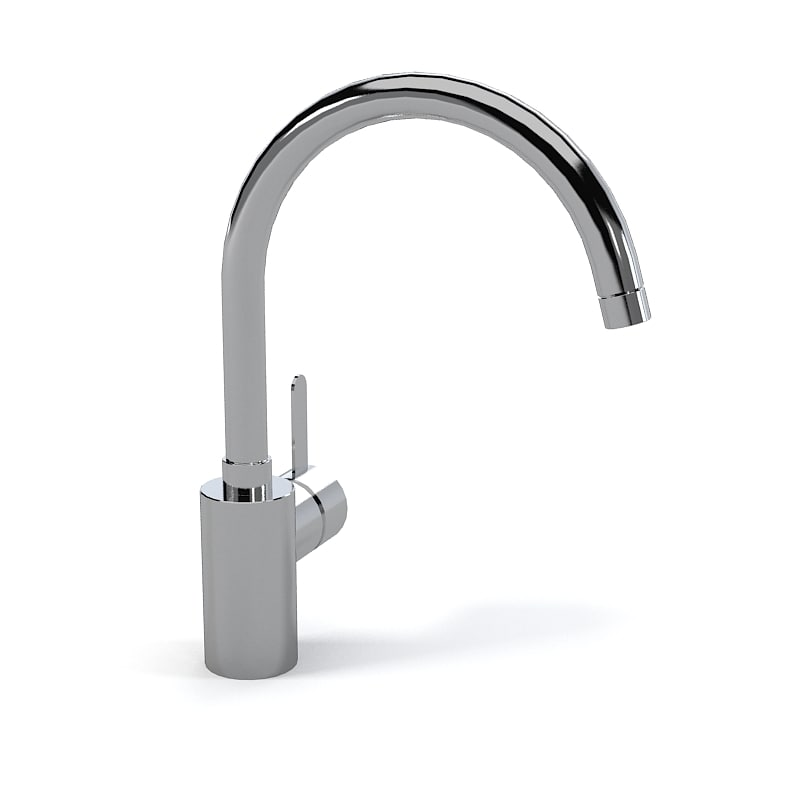 3ds max grohe kitchen faucet