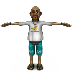3ds max man character