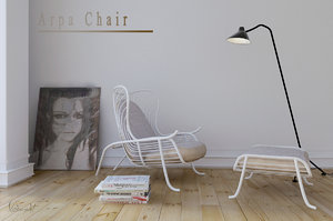 arpa lounge chair max