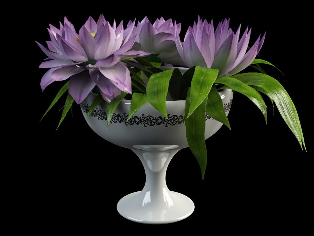 3dsmax Flower Vase