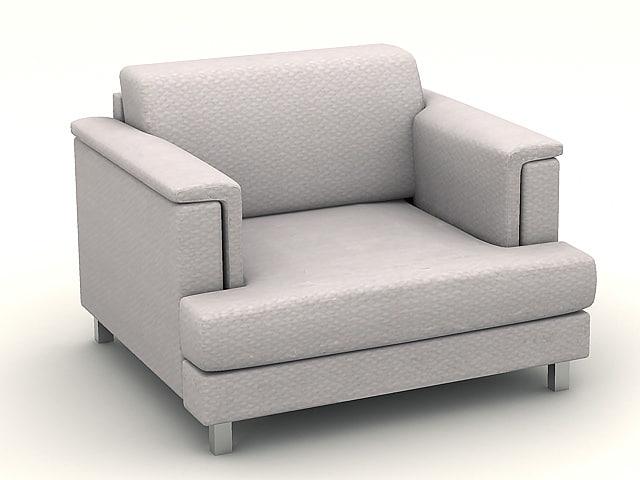 sofa s225a 3d dxf