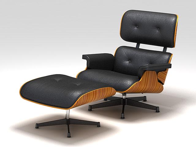 chair eamslg 3d model