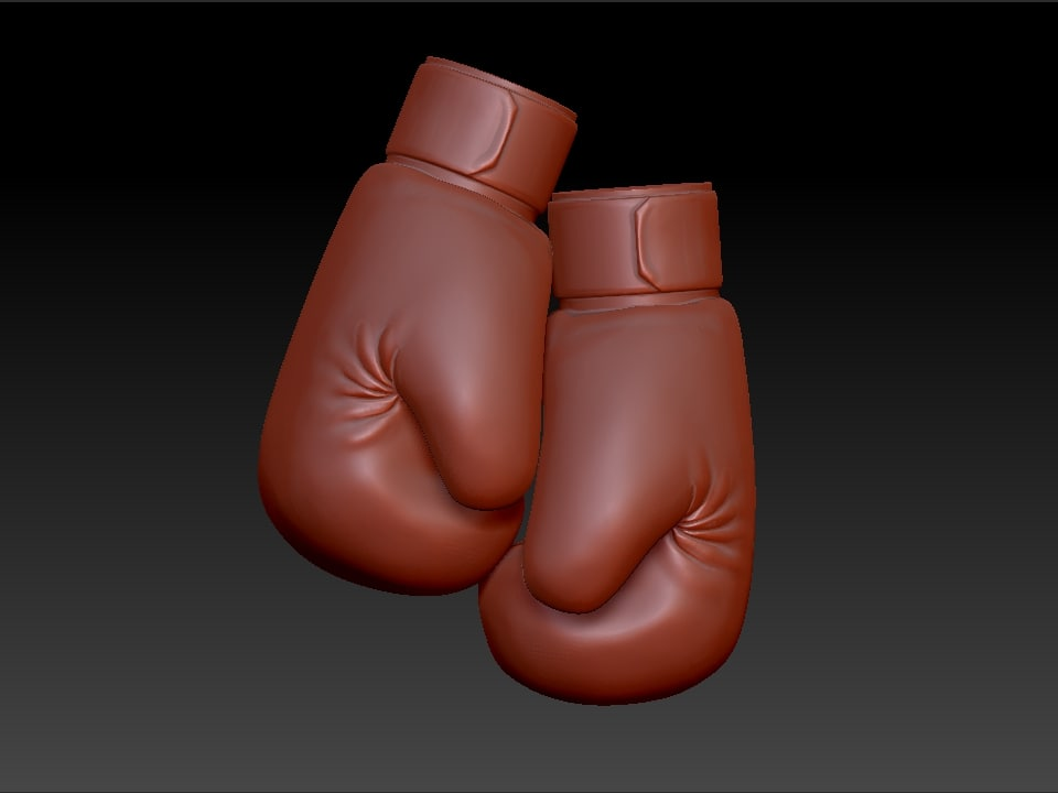 3ds jewelry boxing gloves