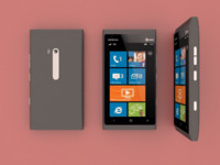 nokia lumia 900 3d model