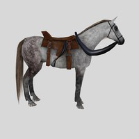 horse knight 3d model