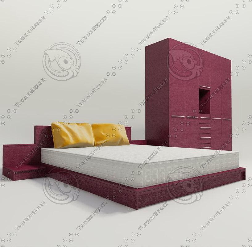 obj bed mattress