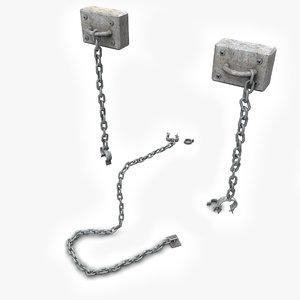 shackles 3d model