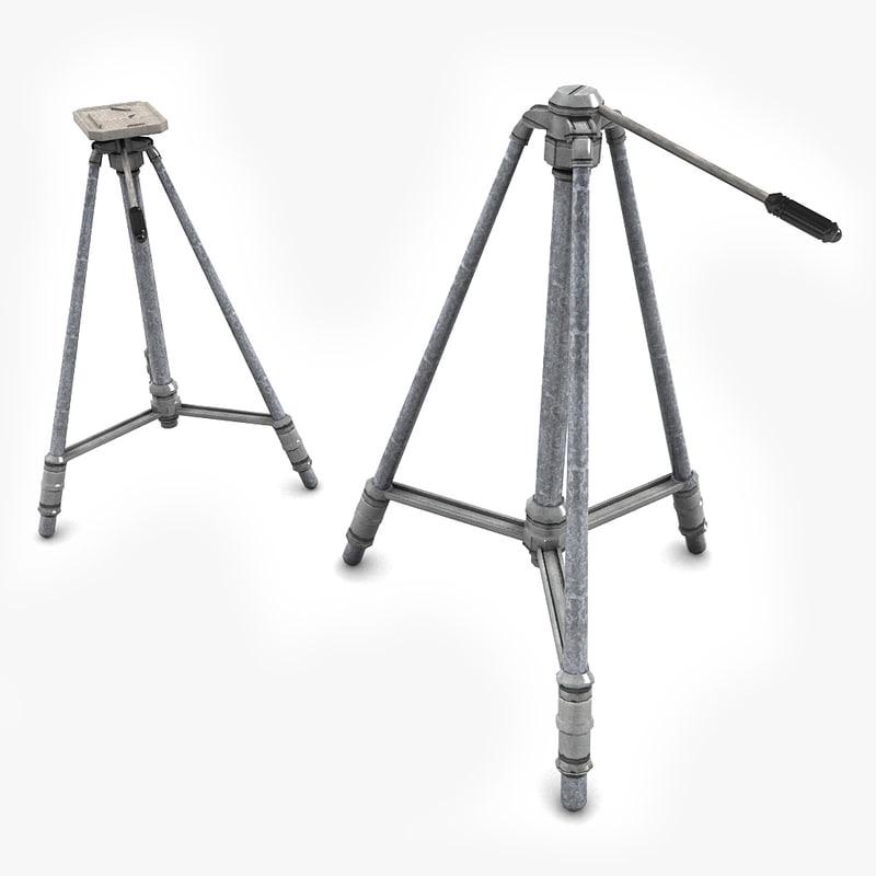 3d model of tripod