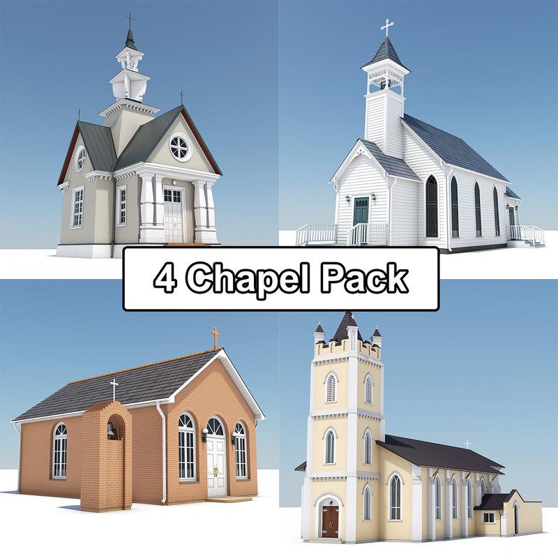3d model 4 chapel