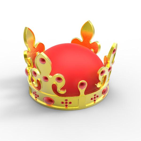 3d model crown