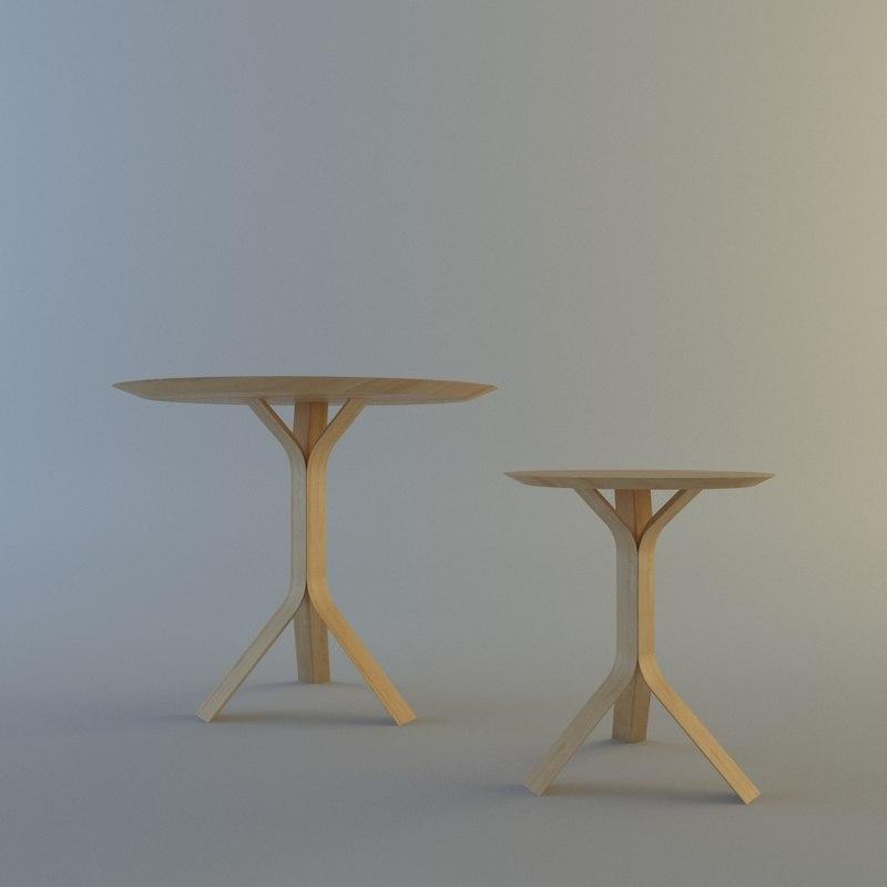 table coffee böttcher 3d model