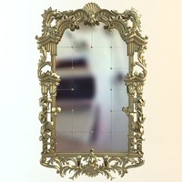 mirror antique 3d 3ds