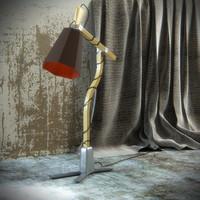 3d model luxiole lamp