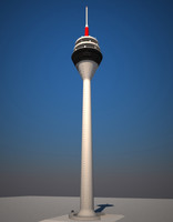 3ds tv tower duesseldorf -