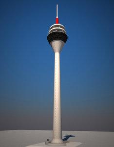 tv tower duesseldorf - ma