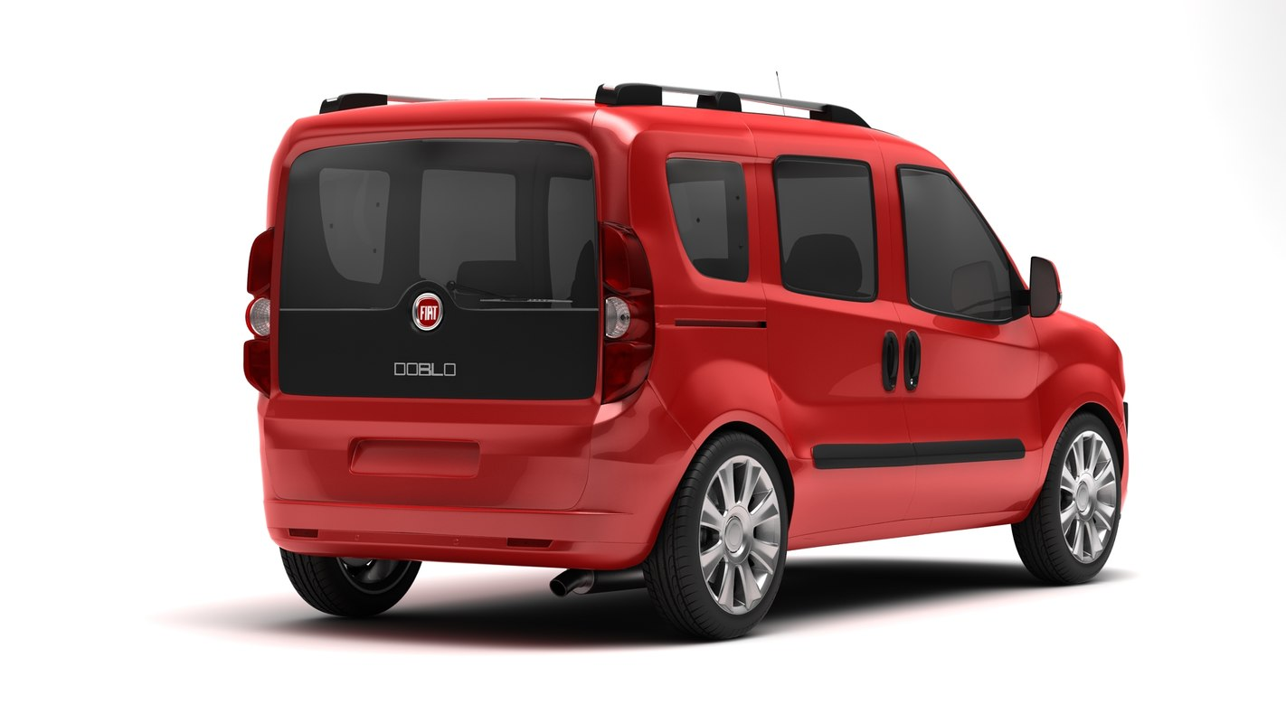 fiat doblo 3d max. Black Bedroom Furniture Sets. Home Design Ideas