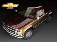 3d chevrolet c mk4 cab