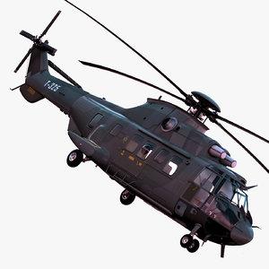 3d model eurocopter as532