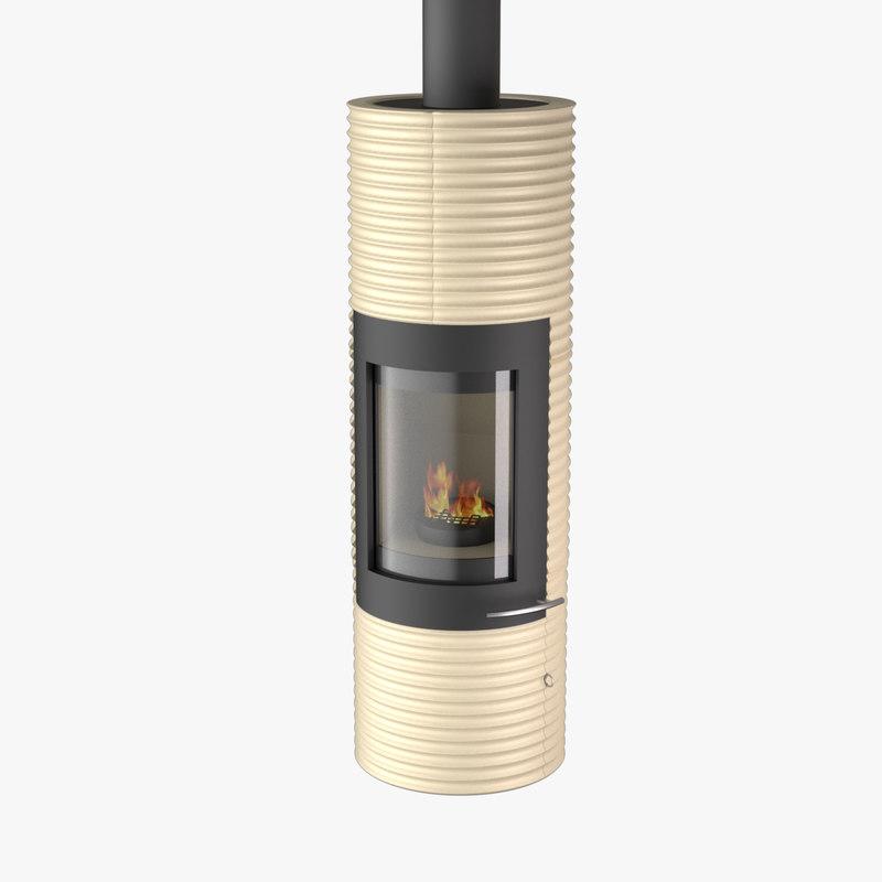 3d fireplace maxwell model