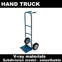 hand truck 3d model