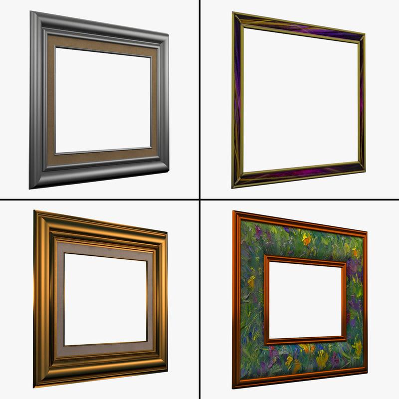 3d picture frames 4