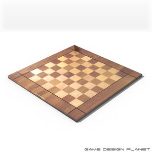 3d chessboard recreational maps