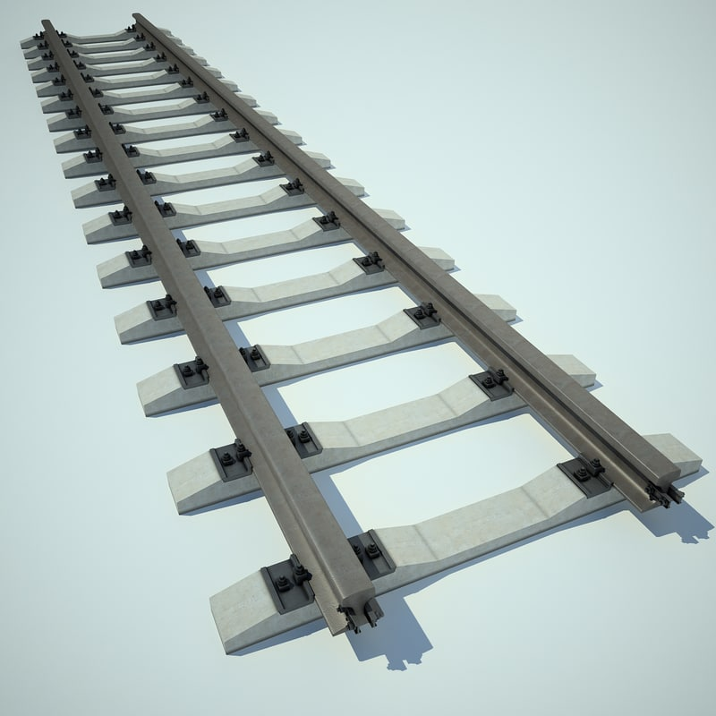 railway 3d max