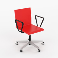 Swivel chair .04 by Vitra with armrests